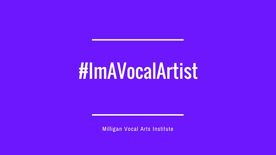 Blogpost of #ImAVocalArtist